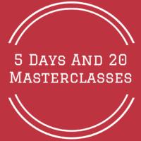 5 days 20 masterclasses